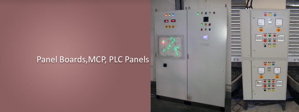 Electrical Systems,Panel Boards,MCP,PLC Panels,Motor Control